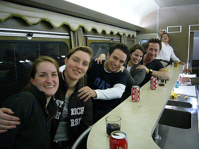 Train Bar. Photo by: Rolo Pics