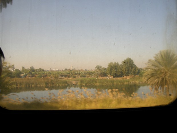 One of the best thing I love about traveling by Train... is the amazing view from the window. Photo by: Alicky