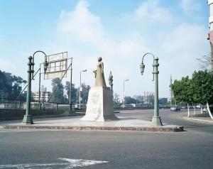 Statue in Zamalek