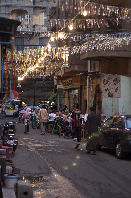 Another type of Ramadan decorations in Egypt (Photo by Rick Wilhelmsen)